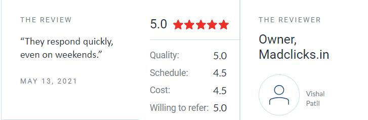 BBNC reviews on Clutch